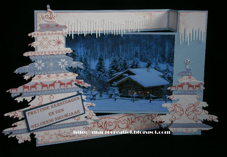 vouwkaart kerstkaart
