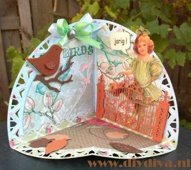caroussel card Marianne Design diydiva
