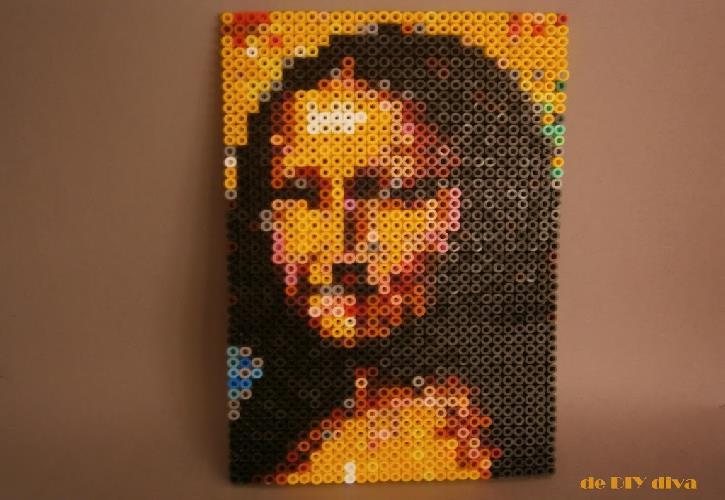 strijkkralen Mona Lisa diydiva