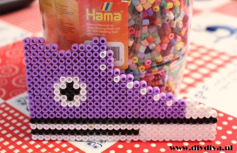 All Stars strijkkralen hama beads diydiva schoen