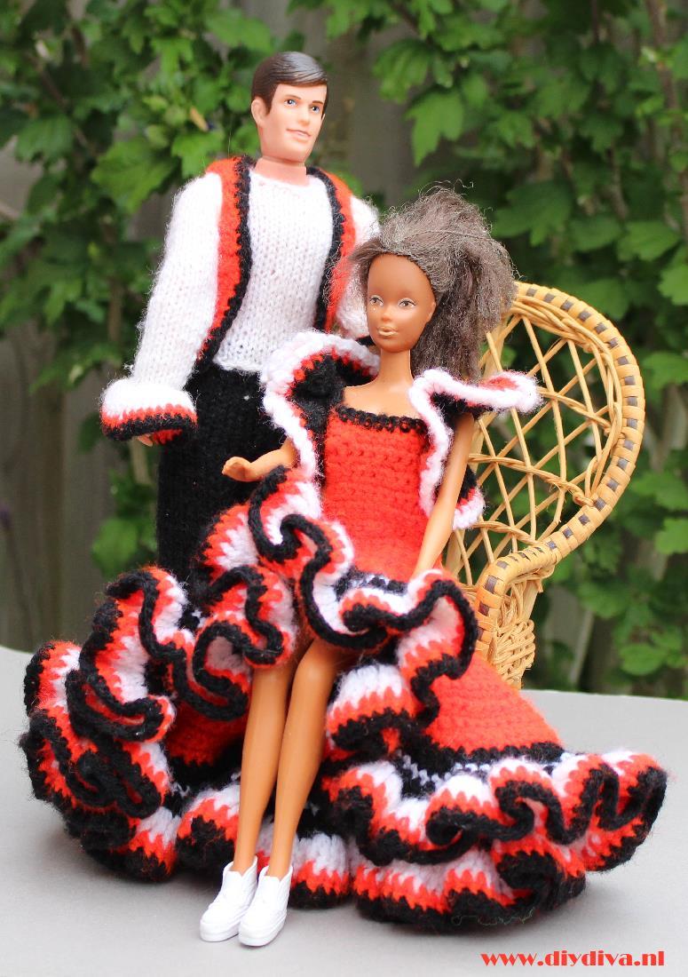 Mijn Barbiekleertjes En Hun Roots Met Patroon De Diy Diva