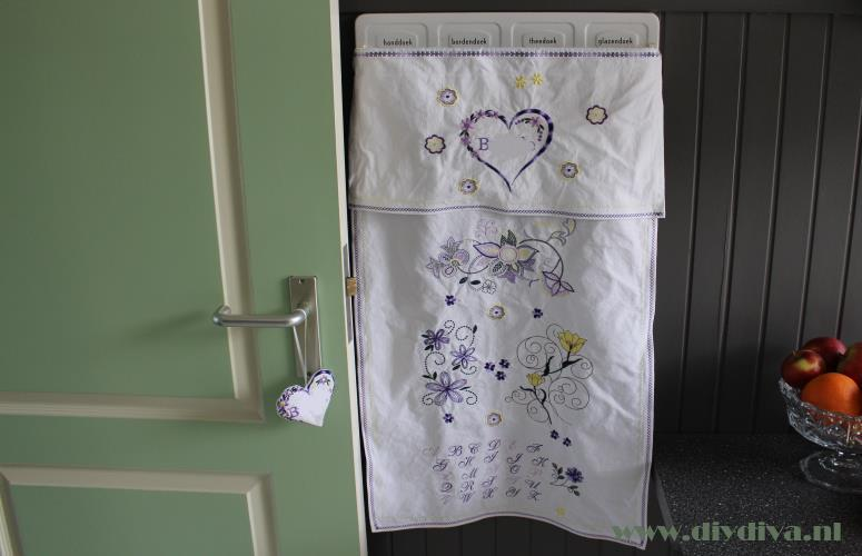doek voor handdoekenrekje g