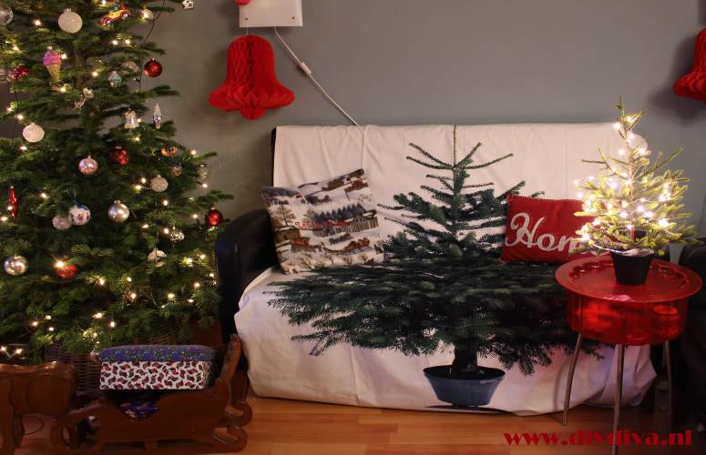 kerstmis woonkamer diydiva
