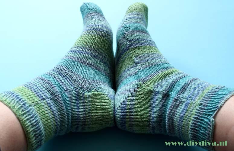 zelf sokken breien breimachine Katia diydiva Bombay